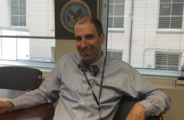 Photo of Dr. Evans at VA